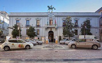 Nissan y Mahou San Miguel presentan la primera flota comercial eléctrica en Granada