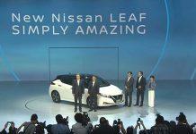 Presentación del nuevo Nissan Leaf 2018 en Tokio
