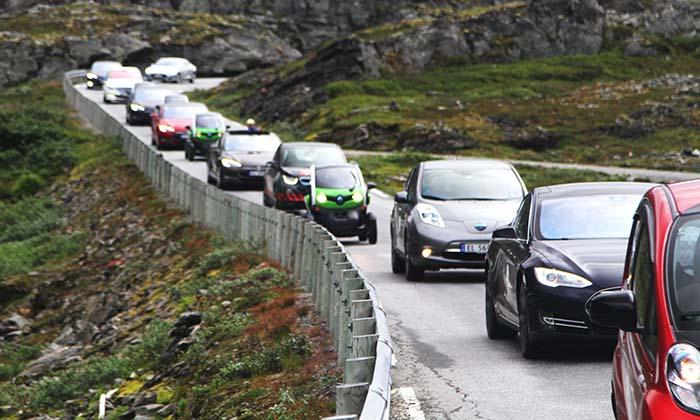 Vehículos eléctricos Noruega