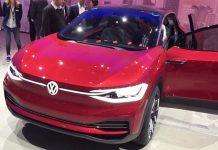 Volkswagen I.D. Crozz en Frankfurt