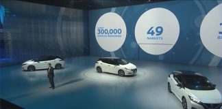 Presentación Nissan Leaf 2018