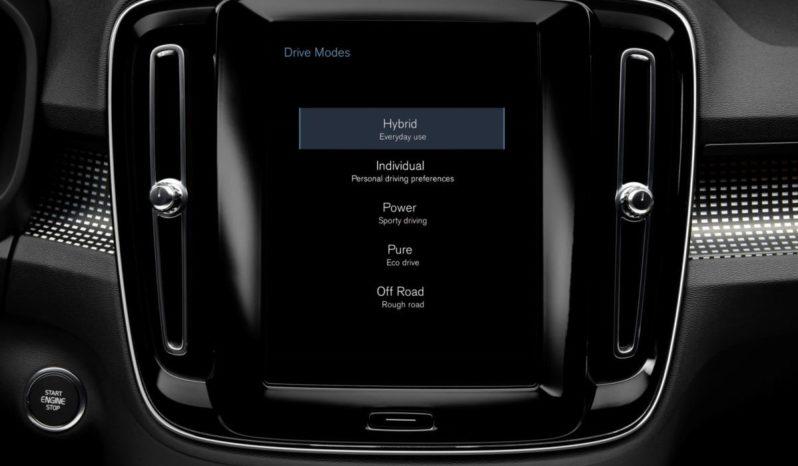 Volvo XC40 híbrido enchufable completo