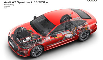 Audi A7 Sportback 55 TFSIe completo