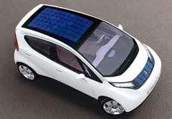 coche con techo solar