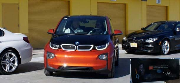 aparcamiento automático bmw i3