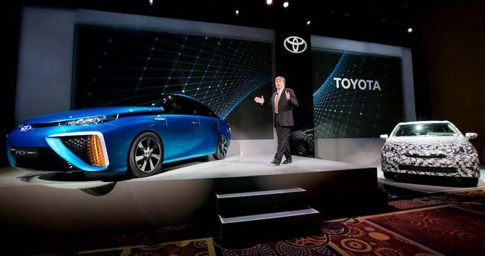 Toyota hidrógeno CES 2014