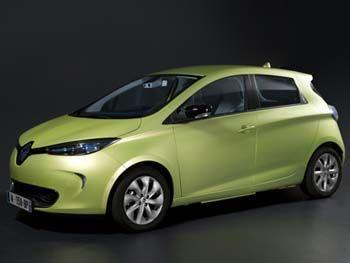 Renault Zoe autónomo