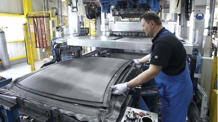 BMWi fibra de carbono