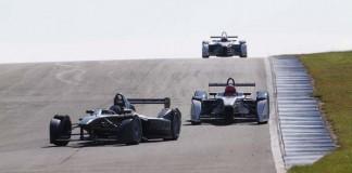 Fórmula E entrenamientos