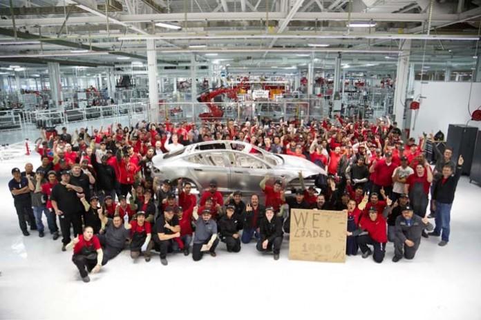 Fábrica de Tesla en Fremont
