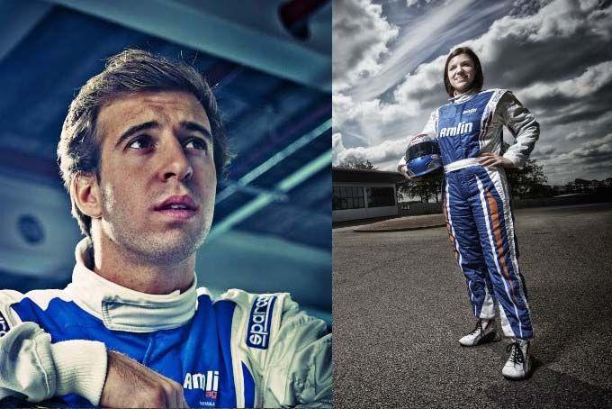 pilotos formula e amlin