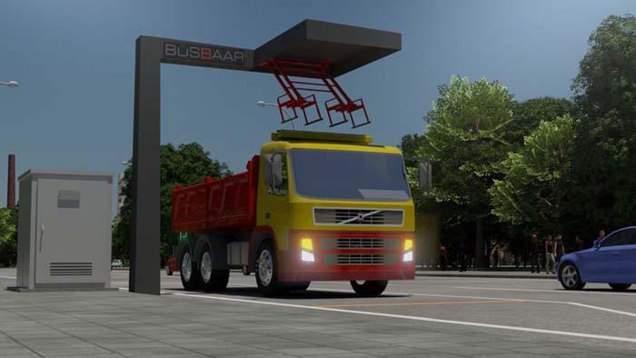 Oprid Trůkbaar recaga rápida camiones - 700