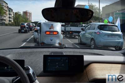 ii marcha vehículo eléctrico madrid - 350