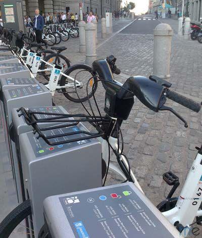 Bicimad, sistema de bici compartida en Madrid. Semana Europea de la Movilidad