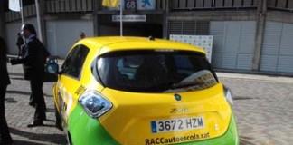 renault zoe autoescuela barcelona dgt