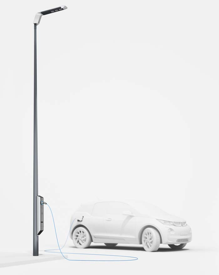 Light and Charge farola bmw - 700