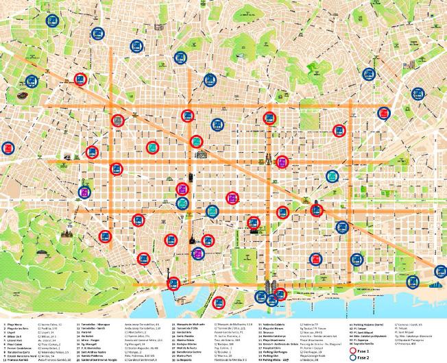 bicing barcelona - 700