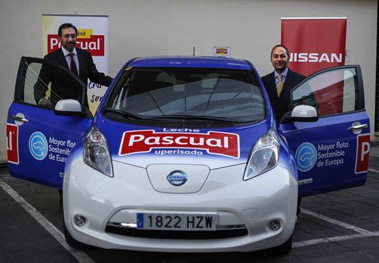 Nissan Leaf del grupo Pascual