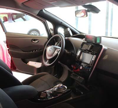 Nissan Leaf taxi barcelona - 350