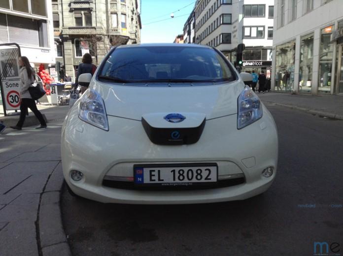 Nissan Leaf noruego