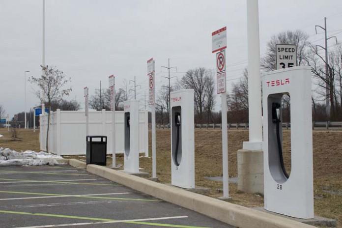 Supercargadores de Tesla Motors