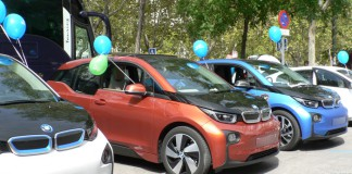 BMW i3-II Marcha del VE en Madrid