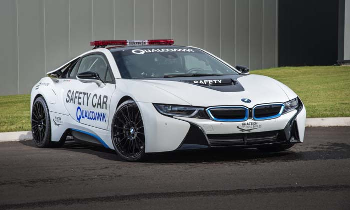 bmw i8 recarga inalambrica qualcomm