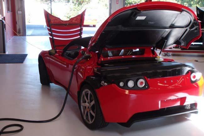 cambio bateria tesla roadster - 700