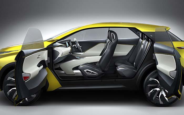 eX Concept. Mitsubishi en el Salón de París