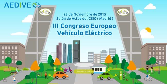 III Congreso Europeo del Vehículo Eléctrico