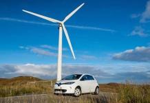 renault islas hebridas occidentales escocia Parque Eólico Pentland Road Wind Farm ç