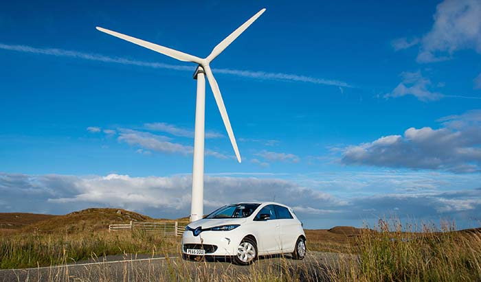 renault islas hebridas occidentales escocia Parque Eólico Pentland Road Wind Farm ç