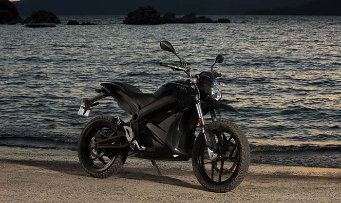 zero-dsr gama 2016 zero motorcycles
