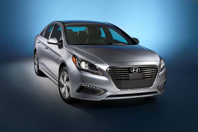 2016 Hyundai Sonata Plug-in Hybrid Electric Vehicle (PHEV)+