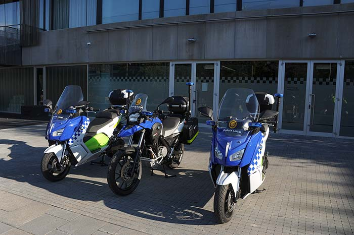 Policía Local de Sant Cugat  BMW C Evolution