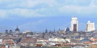 Vista contaminación Madrid