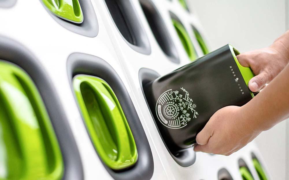 gogoro intercambio de baterias
