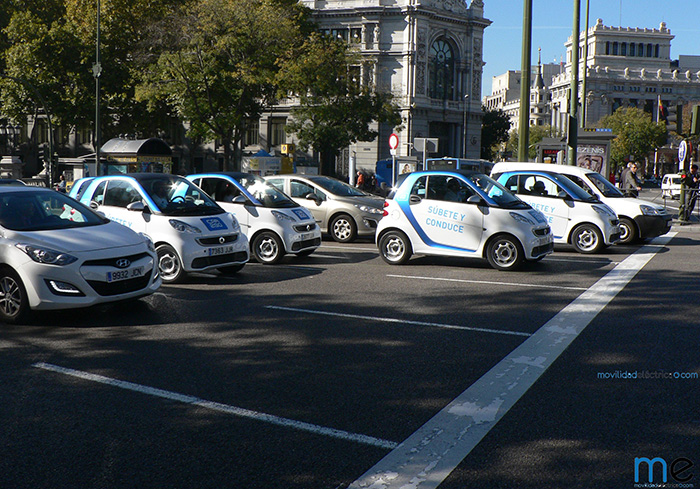 Smart ForTwo ED de car2go en Madrid