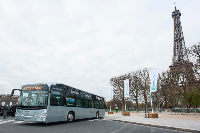 autobus electrico irizar cop21