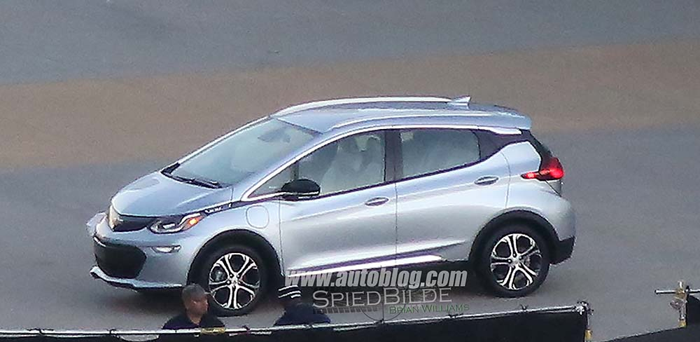 chevrolet bolt produccion delantera
