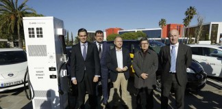 punto de recarga rapida area metropolitana barcelona