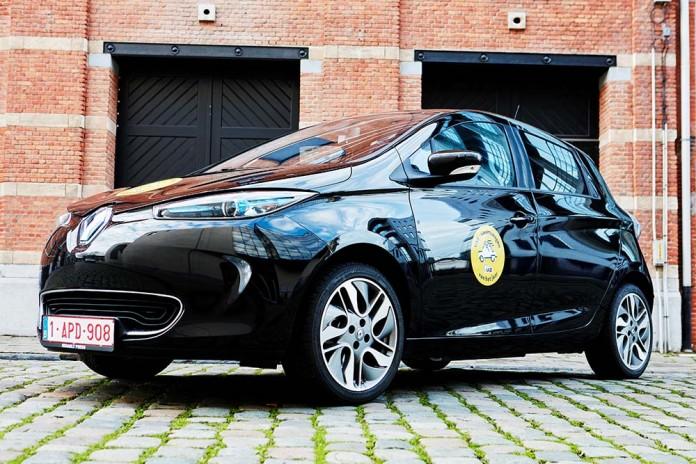 renault zoe r240 coche familiar VAB