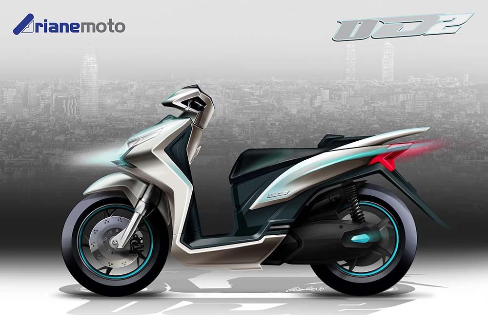 scooter electrica Volta Scutum Torrota Rieju