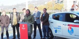 taxi electrico de cortesia Bilbao 2