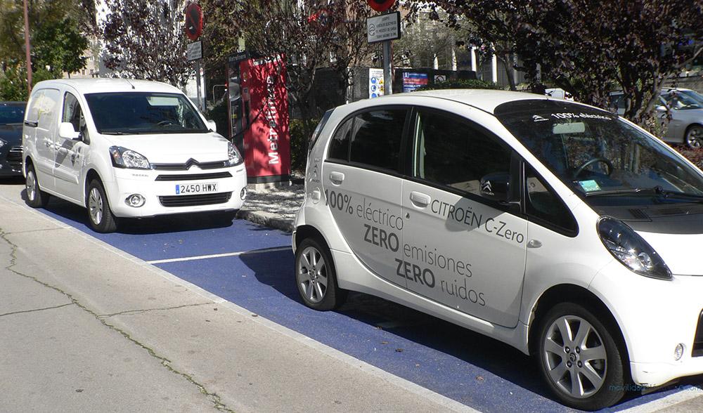 Citroën Berlingo Eléctrica y C-Zero