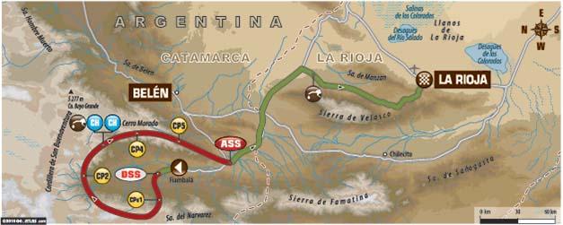 Dakar 2016. Etapa 10 Belén – La Rioja