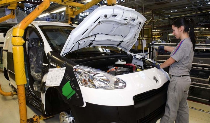 Fábrica de PSA en Vigo - Peugeot Partner Eléctrica