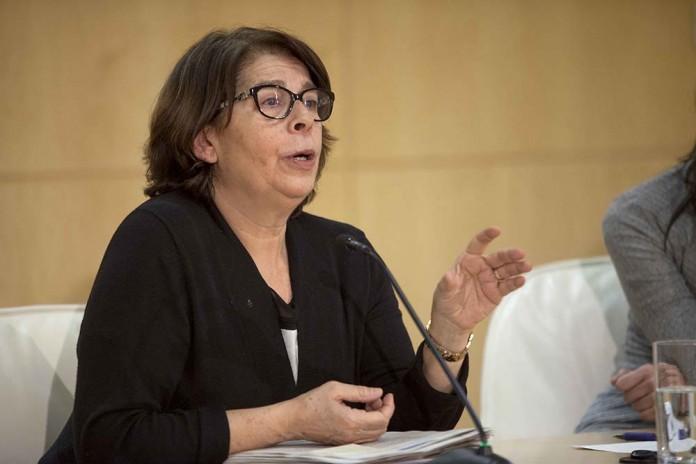 Inés Sabanés, Delegada del Área de Gobierno de Medioambiente y Movilidad