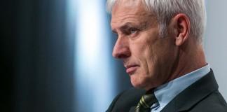 Matthias Müller, CEO de Volkswagen