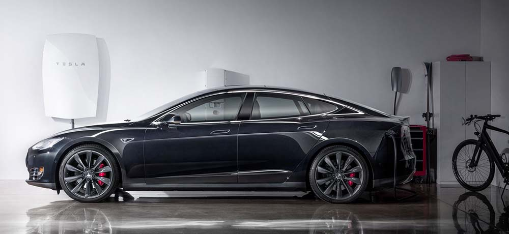 Tesla Model S y Tesla Powerwall